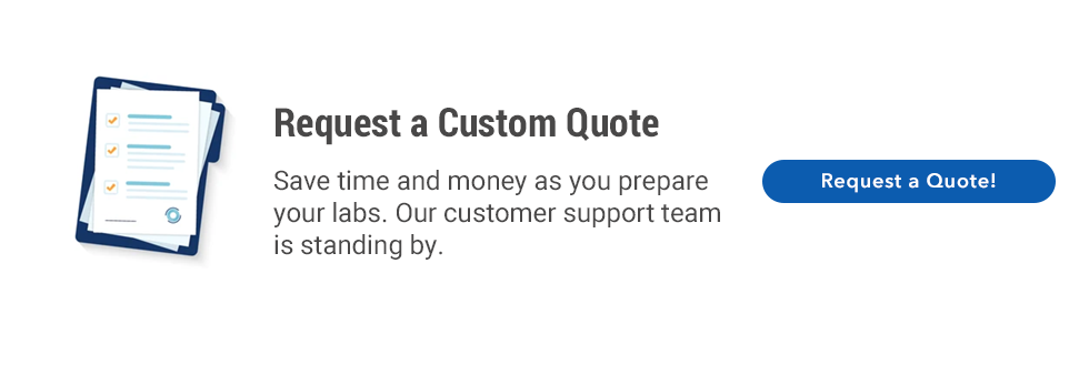 Request a custom quote!