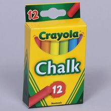 Chalk, Assorted Colors, Set of 12