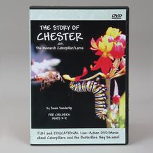 The Story of Chester, The Monarch Caterpillar/Larva DVD