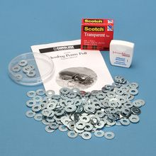 Bessbug Penny Pull Kit Replacement Washers, Pack of 200