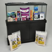 Marine Aquarium Kit, Carolina® Special, 55 gal, with Invertebrate and Fish Sets