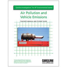 Carolina Investigations® for AP® Environmental Science: Air Pollution and Vehicle Emissions Digital Teacher's Manual