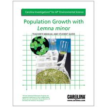 Carolina Investigations® for AP® Environmental Science: Population Growth with Lemna minor Digital Teacher's Manual