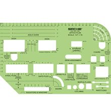 Office Plan Sketching Template