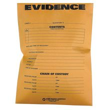Chain of Custody Evidence Envelopes