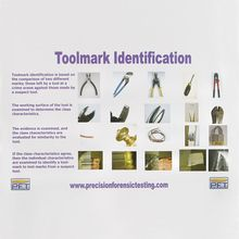 Toolmark Identification Poster