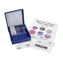 Beginner's Human Tissue Microscope Slide Set