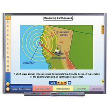 Multimedia Earth Science Lessons for Interactive Whiteboards: Earthquakes, Single User