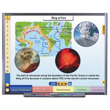 Multimedia Earth Science Lessons for Interactive Whiteboards: Volcanoes, Site License/Single Building