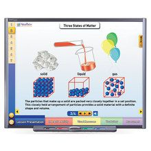 Physical Science Multimedia Lessons for Interactive Whiteboards: Properties and States of Matter, Single User