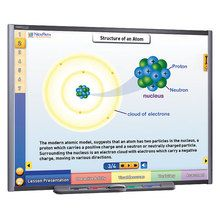 Physical Science Multimedia Lessons for Interactive Whiteboards: Atoms and Chemical Bonding, Site License/Single Building