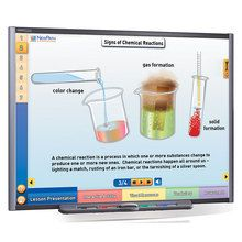 Physical Science Multimedia Lessons for Interactive Whiteboards: Chemical Reactions