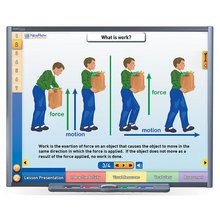 Physical Science Multimedia Lessons for Interactive Whiteboards: Work, Power, and Simple Machines