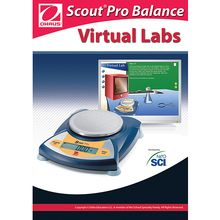 OHAUS Scout® Pro Virtual Lab Software, Network CD-ROM