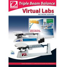 OHAUS Triple Beam Balance Virtual Lab Software, Network CD-ROM
