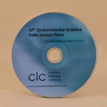 AP® Environmental Science Daily Lesson Plans, CD-ROM