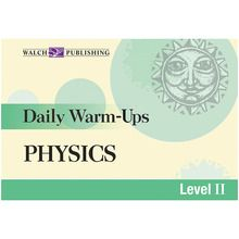 Daily Warm-Ups: High School Physics Book