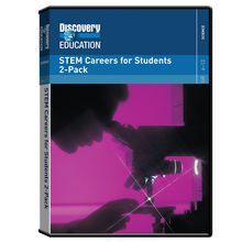 STEM Careers for Students DVD 2-Pack