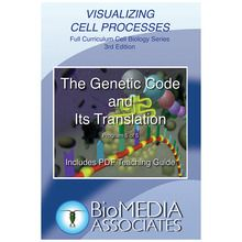 Visualizing Cell Processes: The Genetic Code and Its Translation DVD