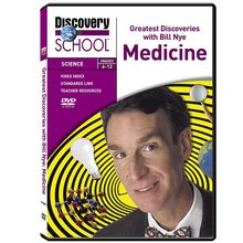 Greatest Discoveries with Bill Nye Medicine DVD