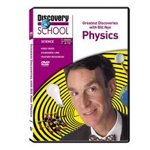 Greatest Discoveries with Bill Nye Physics DVD