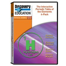Discovery Education Interactive Periodic Table of the Elements DVD Set