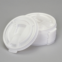 Cup Lid, for Styrofoamreg; 8-oz Cup, Pack of 10