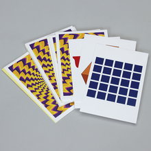 Photo Card Set, Optical Illusion, Pack of 8