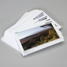 Photo Card Set, Volcano, Pack of 8