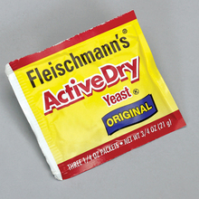 Yeast, Active Dry, 1/4-oz Pack