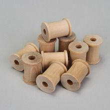 Spool, Wood, Small, Pack of 10