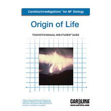 Carolina Investigations® for AP® Biology: Origin of Life Digital Teacher's Manual