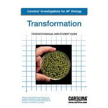 Carolina Investigations® for AP® Biology: Transformation Digital Teacher's Manual