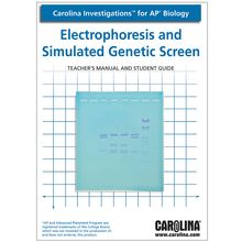 Carolina Investigations® for AP® Biology: Electrophoresis and Simulated Genetic Screen Digital Teacher's Manual