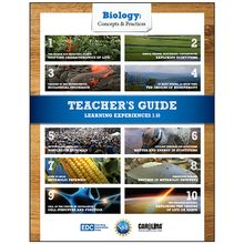 Biology: Concepts & Practices™: Student Learning Experiences 1–10 Teacher's Guide eBook, 1-Year License