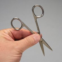 Surgical Scissors, Stainless Steel, Sharp/Sharp, Straight, 4 1/2 in