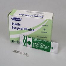 Scalpel Blades, Economy, No. 12, Fits Handle No. 3
