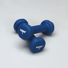 Dumbbell, 1 lb, Pack of 2