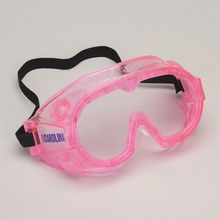 Safety Goggles, Small, Pink, Value Pack of 10