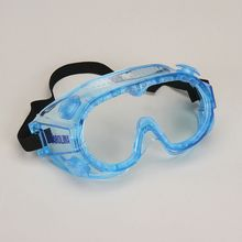 Safety Goggles, Small, Blue, Value Pack of 10