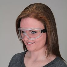 Streamlined Anti-Fog Safety Goggles