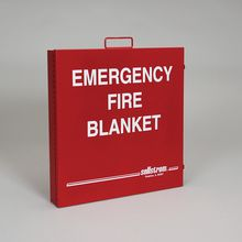 Fire Blanket in Metal Case