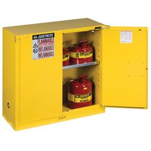 Sure-Grip® EX Flammables Cabinet with Self-Closing Doors (30-gal)