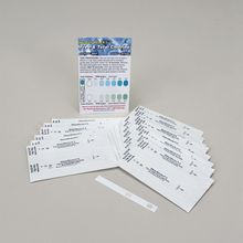 Free and Total Chlorine Water Test Strips, Vial of 30