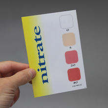 LaMotte® Nitrate Color Chart