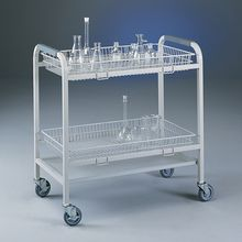 Glassware Cart with 2 Baskets