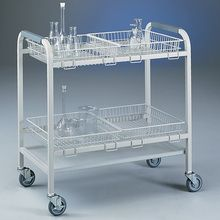 Glassware Cart with 4 Baskets