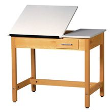 Drawing Table with Small Drawer, 36