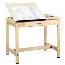 Drawing Table with Center Drawer, 30