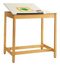 Drawing Tables with Plain Apron
